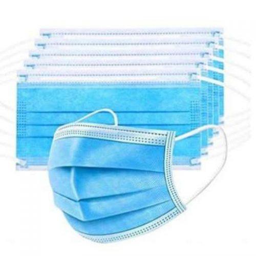 Ochranné rúško na tvár ochranná maska – balenie 25ks, 50ks, 100ks