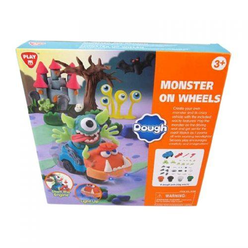 PLAYGO Monster Wheel – plastelína pre deti