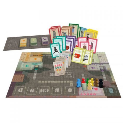Rad – Podpultová stolová hra, Kolejka